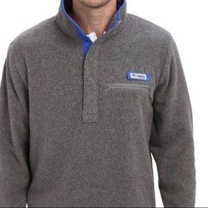 2 Mens L -Columbia/PFG Pullover - 1 Grey  1 Black
